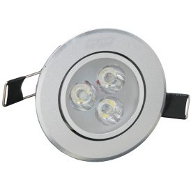 3 x 1W C1 LED Ceiling Lights 5