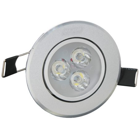 3 x 1W C1 LED Ceiling Lights 1