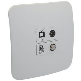 TV and Satellite Socket Outlet 6