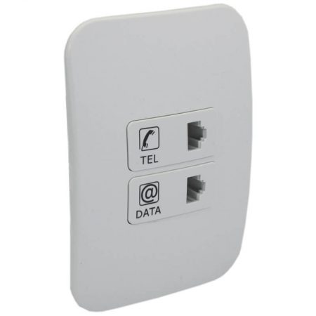 Telephone and Data Socket Outlet 1