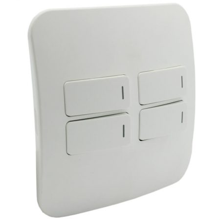 Four Lever Light Switch 1