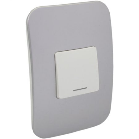 One-Way White Switch with Locator 1