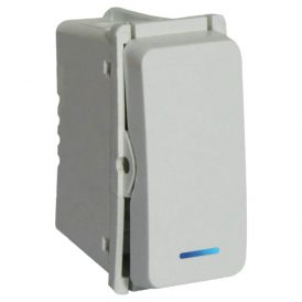 Bell Press Switch (1 Module) with Locator 6