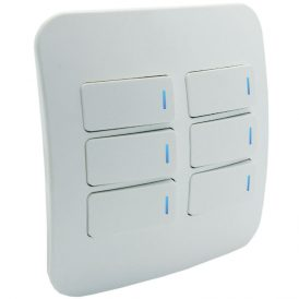 Six Lever One-Way Switch with Locator 5