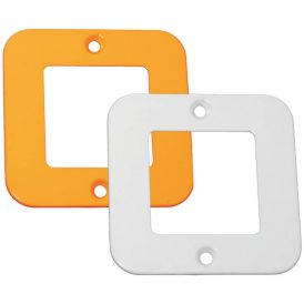One Double Module Cover Plate 7