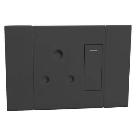 Horizontal Single RSA Socket 1
