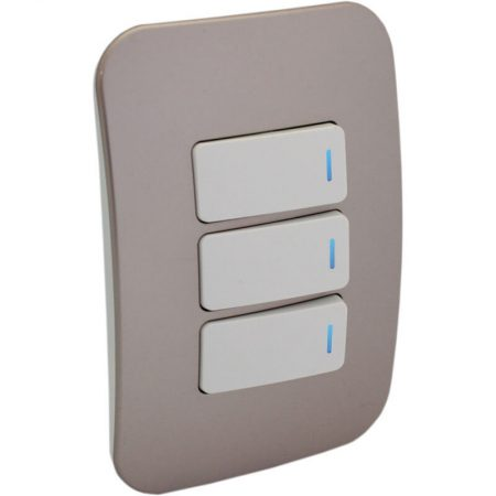 Three Lever One-Way Switch with Locator 1