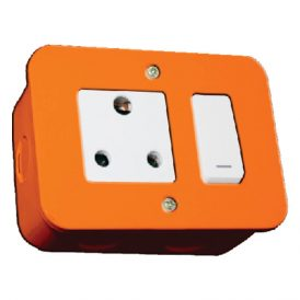 Switched Single 16A RSA Socket Outlet 6