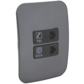 Telephone and Data Socket Complete 1