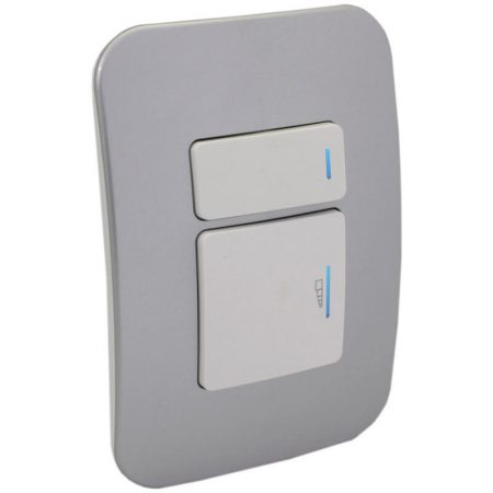 2-Way Universal Push Button Dimmer with Locator Switch 1