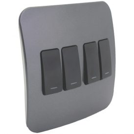 Four Lever Light Switch 8