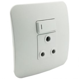 Single Switched Wall Socket 5