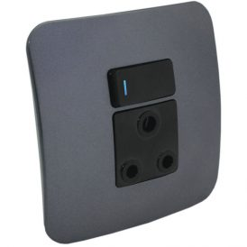 Single 16A RSA Socket Outlet with Indicator 8
