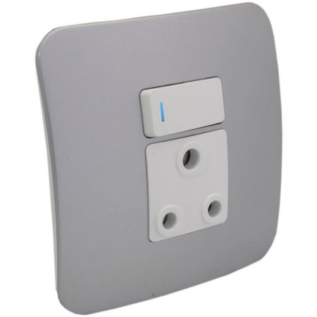 Single RSA Socket Outlet with Indicator 1