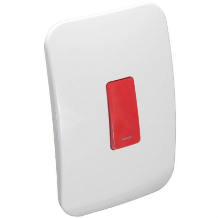 One Lever One-Way Red Switch 1