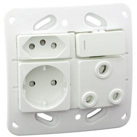 VG26 Monoblock Socket Outlet 3