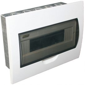 12 Way Flush Mount Board With Galvanised Steel Tray 10