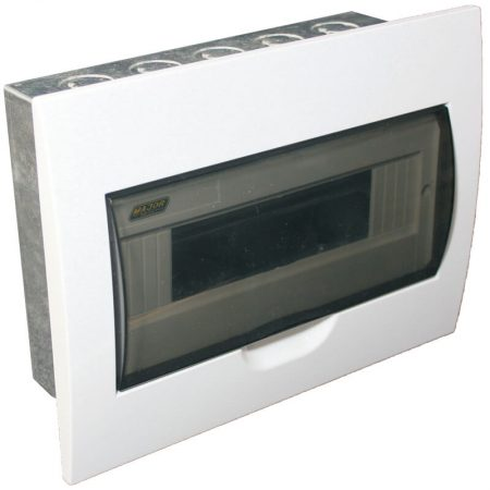 12 Way Flush Mount Board With Galvanised Steel Tray 1
