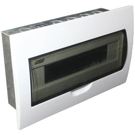 15 Way Flush Mount Board With Galvanised Steel Tray 1