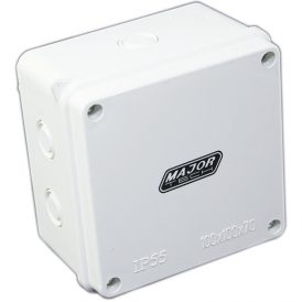 Junction Boxes with Knock Outs (100mm x 100mm x 70mm) 8
