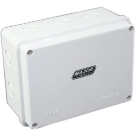 Junction Boxes with Knock Outs (150mm x 110mm x 70mm) 9