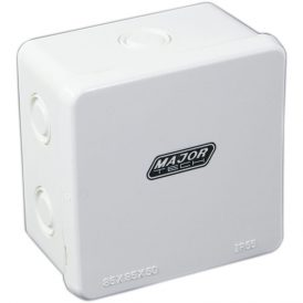 Junction Boxes with Knock Outs (85mm x 85mm x 50mm) 10
