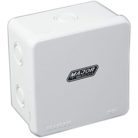 Junction Boxes with Knock Outs (85mm x 85mm x 50mm) 1