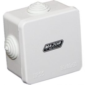 Junction Boxes with Rubber Gland (80mm x 80mm x 50mm) 8