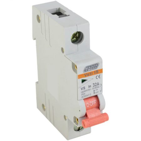 32A Single Pole Isolator 1