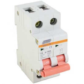 100A Double Pole Isolator 16