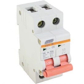 32A Double Pole Isolator 13