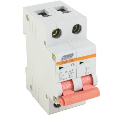 63A Double Pole Isolator 1
