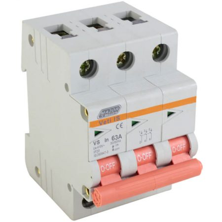 63A Triple Pole Isolator 1