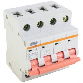 63A Four Pole Isolator 16