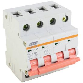 80A Four Pole Isolator 18
