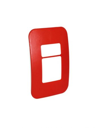 Two Module Cover Plate (1 Single, 1 Double) 1