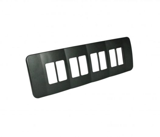 Eight Single Module Vertical Cover Plate 1